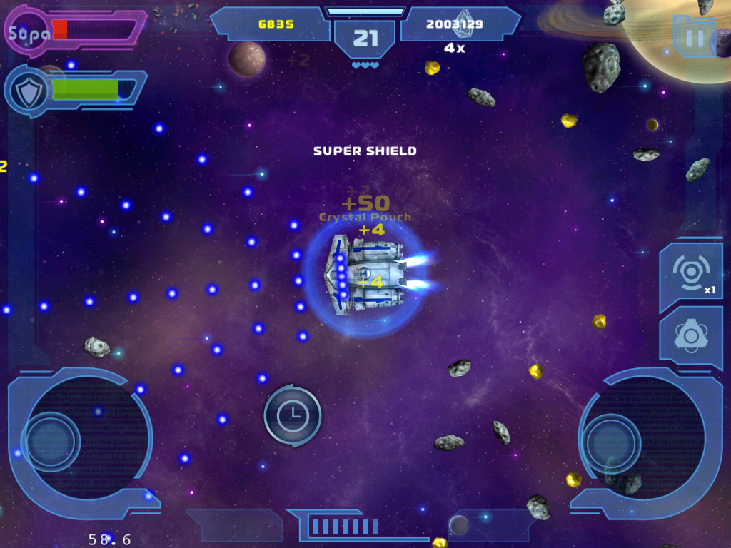Asteroids Gunner gameplay