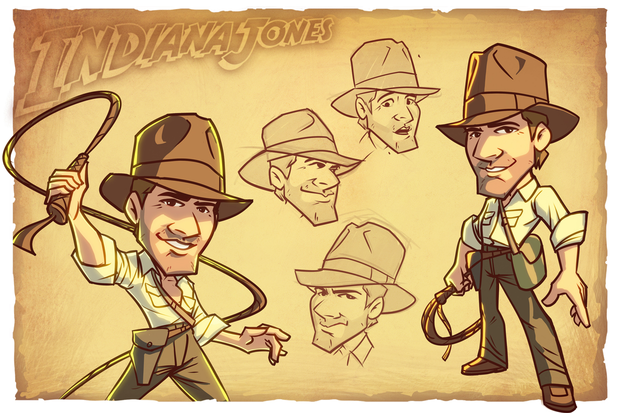 Indiana Jones concept art