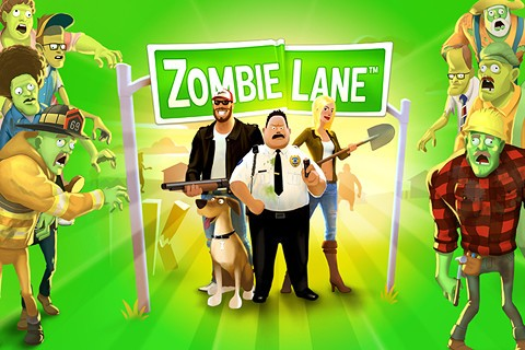 Zombie Lane on iPhone