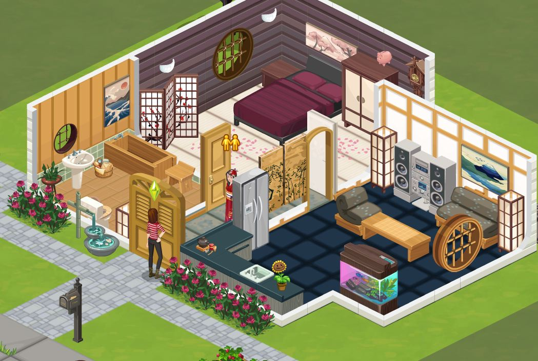 the sims social japan bella