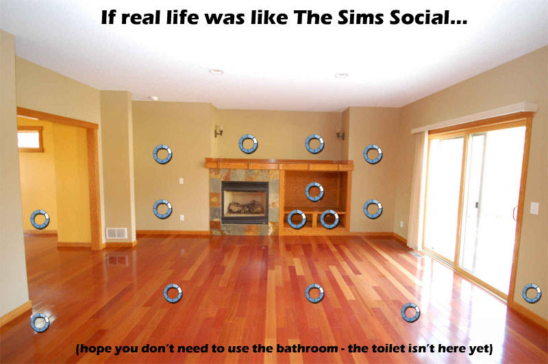 sims social blue circle of death