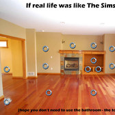 If real life was like The Sims Social...