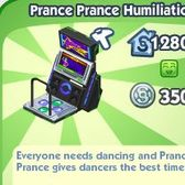 The Sims Social parodies Dance Dance Revolution