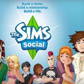 The Sims Social 'Add me' Page