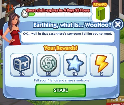 earthling what is woohoo rewards 1
