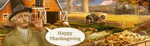 facebook games thanksgiving