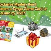 CityVille: Redeem Zynga Game Card for free Mystery Items