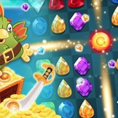 Booty Quest offers match-three gameplay in 90-second bursts on Facebook