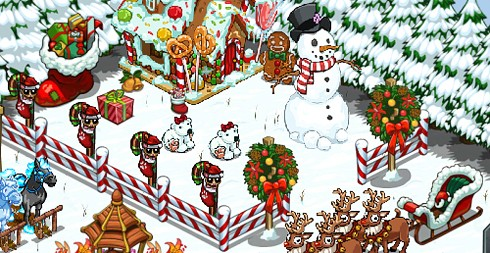 christmas facebook farmville cityville the sims social