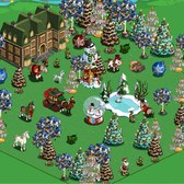 FarmVille: Christmas Model Farm offers free prizes for visiting