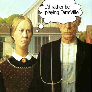 FarmVille American Gothic