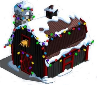 FarmVille Christmas Barn