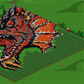 FarmVille Pic of the Day: Escape the Dragon's Head by DedHt
