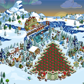 FarmVille Pic of the Day: IrisMagick's Christmas Tree O' Crops