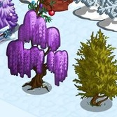 FarmVille Winter Holiday: Purple Willow Tree, Green Caroling Horse and more