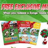 FarmVille: Buy a Zynga Game Card for Mystery Prizes