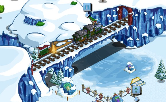 FarmVille Winter Wonderland Polar Express