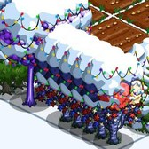 FarmVille: Add a festive touch of snow and lights to your farms