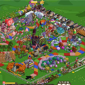 FarmVille Pic of the Day: Hop to Candy Land on vwchick24's board game farm