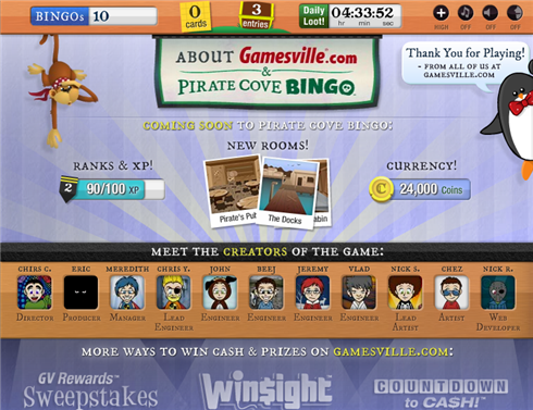 Avast ye, bingo fans! Gamesville's Pirate Cove Bingo sails ...
