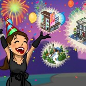 CityVille: Ring in the New Year with limited edition items for your city