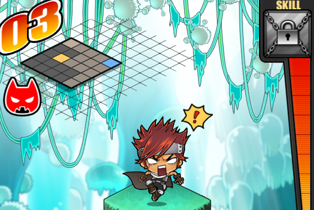 MapleStory Cave Crawlers in action