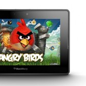 Angry Birds finally hits BlackBerry PlayBook, and for <em>ho