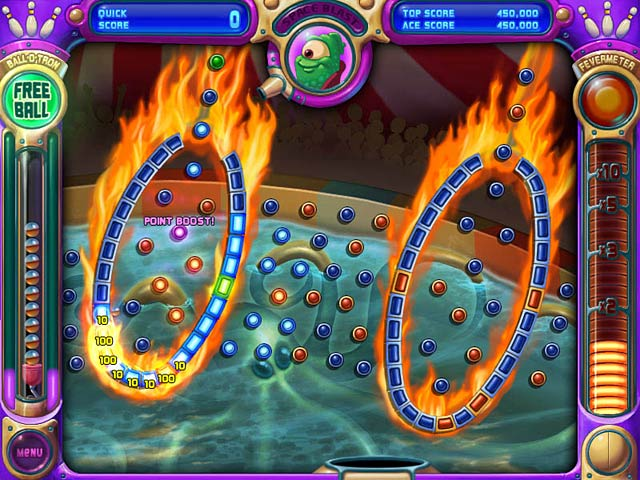 Peggle in action