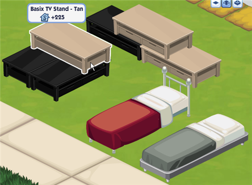 Sims Social bunk bed requirements