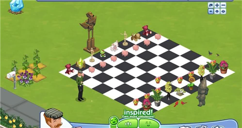 Sims Social chess