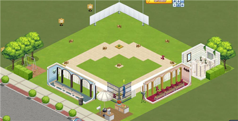 Sims Social baseball