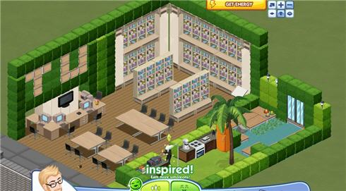Sims Social Library
