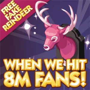 Sims Social Pink Deer Head Free