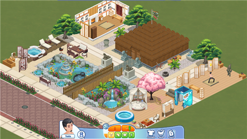 Sims Social dojo