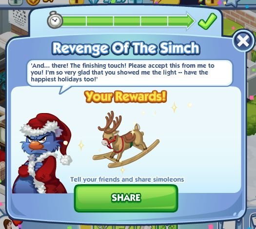 sims social revenge of the simch final