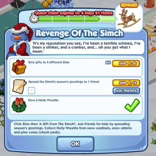 sims social revenge of the simch 5