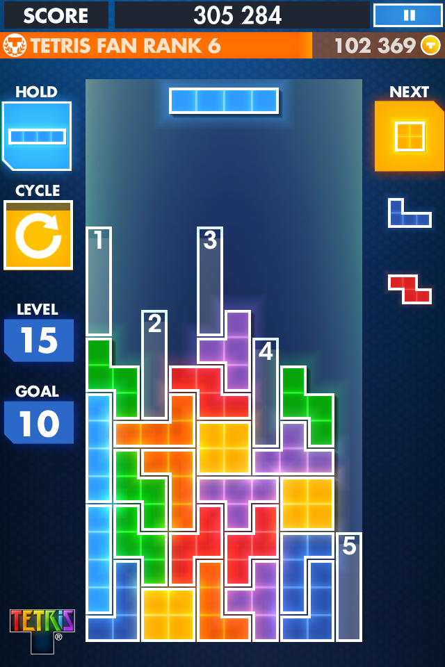 Tetris One-Touch