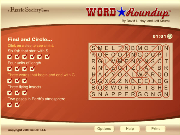 word roundup game of the day