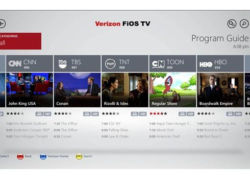 Xbox 360 Verizon FiOS TV