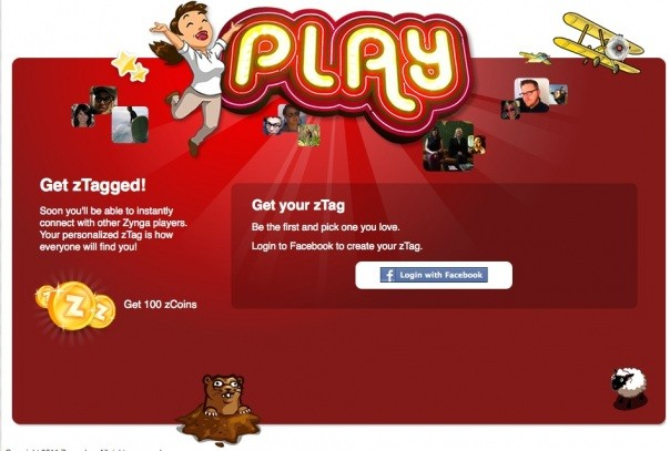 Zynga zTag Project Z