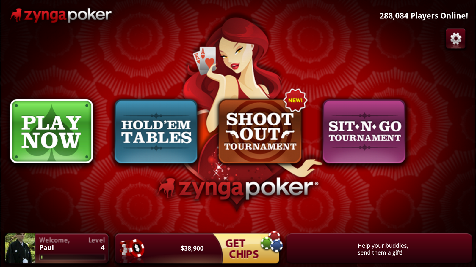 Zynga Poker Google TV
