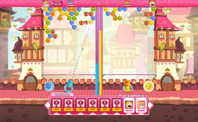 Candy Dash multiplayer