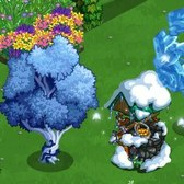 FarmVille Winter Fantasy Items: Icy Peach Tree, Frosty Fairy Duck and more