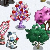 FarmVille Valentine's Day Trees: Heart Balloon and Smoke Trees now available