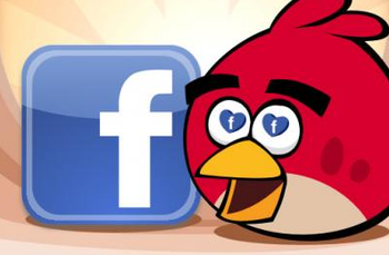 Angry Birds Facebook Valentine