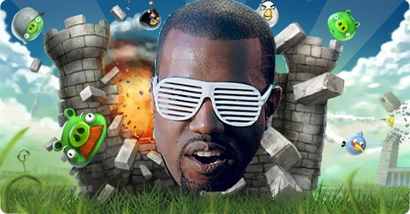 Angry Birds Kanye West