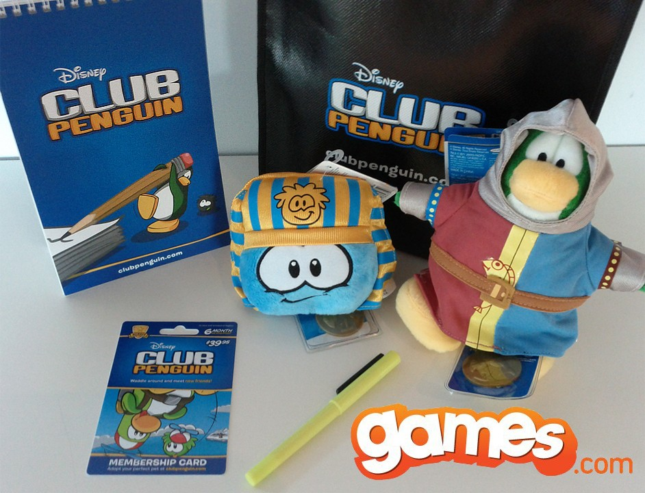 club penguin free membership plush doll