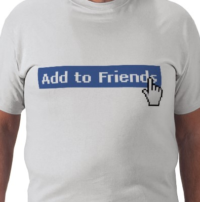 Add to Friends t-shirt