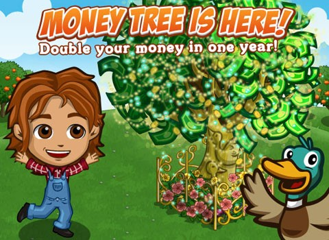 FarmVille Money Trees