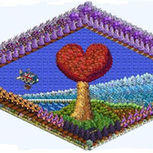FarmVille Pic of the Day: Lighthouse Heart on the Sea by AndreaHopps